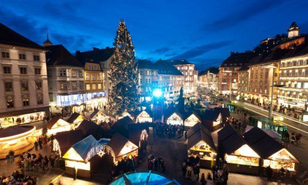 Stimmungsvoller Advent in der Grazer Altstadt und am Schlossberg