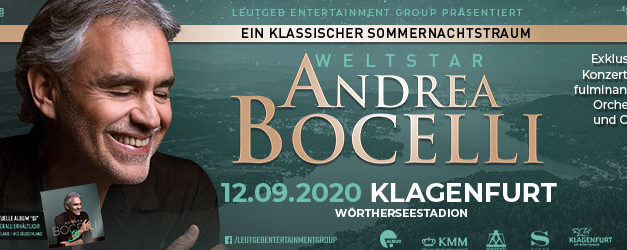 Weltstar Andrea Bocelli im Wörthersee-Stadion
