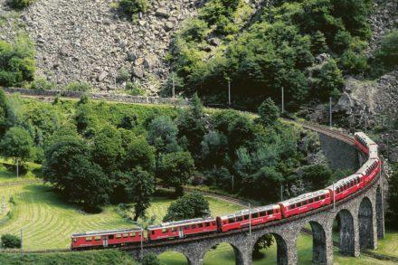 Von den Gletschern zu den Palmen – Zauberhafte Schweiz
