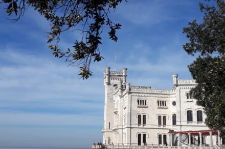 Triest mit Schloss Miramare