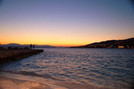 An die Riviera von Crikvenica